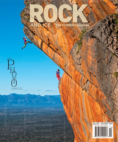 Rock and Ice issue October 2018