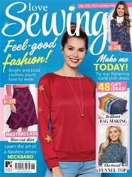 Love Sewing Magazine Cover