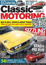 Classic Motoring issue Oct-18