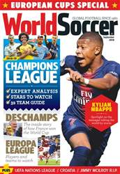 World Soccer issue September 2018