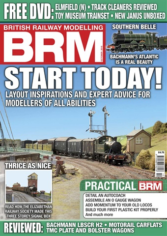 British Railway Modelling issue BRM October 2018