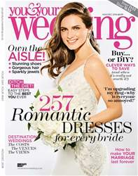 You & Your Wedding issue November and December 2018