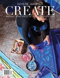 Where Women Create Magazine Cover