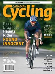 Canadian Cycling Magazine issue Volume 9 Issue 5