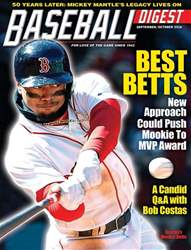 Baseball Digest issue Sep/Oct 2018