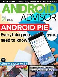 Android Advisor issue Issue 54
