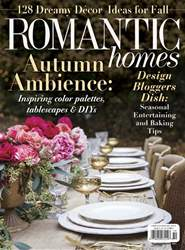 Romantic Homes issue October 2018