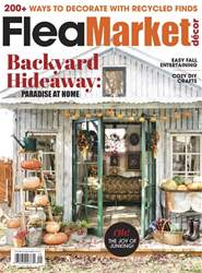 Flea Market Décor issue Oct/Nov 2018