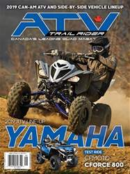 ATV Trail Rider issue September/october 2018
