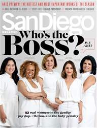 San Diego Magazine issue Women in the Workforce