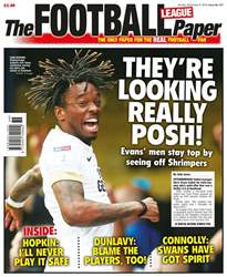 The Football League Paper Magazine Cover
