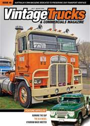 Vintage Trucks & Commercials issue Jul - Aug 2018
