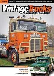 Vintage Trucks & Commercials Magazine Cover
