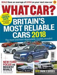 What Car Magazine issue October 2018