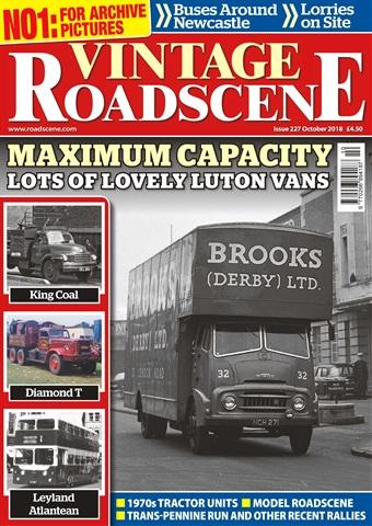 Vintage Roadscene issue October 2018