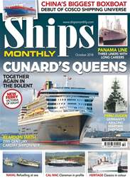 Ships Monthly issue October 2018