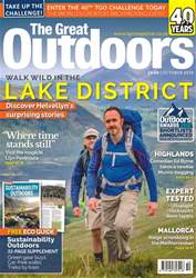 TGO - The Great Outdoors Magazine issue October 2018