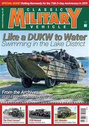 Classic Military Vehicle issue   October 2018