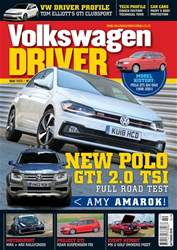 Volkswagen Driver issue October 2018