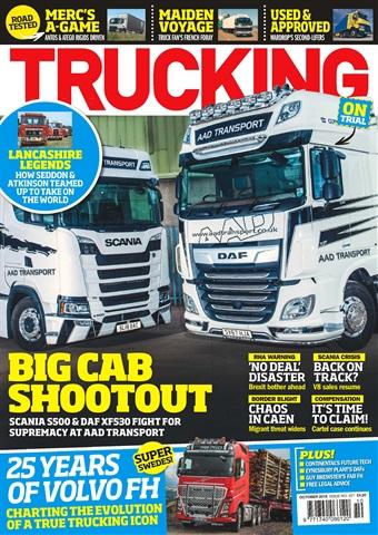Trucking Magazine issue October 2018