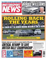 Motorsport News issue 12th September 2018