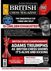 British Chess Magazine issue September 2018