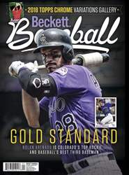 Beckett Baseball issue October 2018