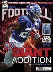 Beckett Football issue October 2018