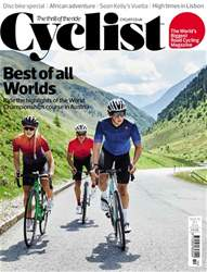 Cyclist issue October 2018