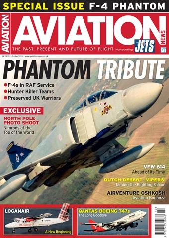 Aviation News incorporating JETS Magazine issue   October 2018