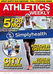 Athletics Weekly issue 13 September 2018