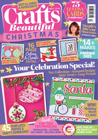 Crafts Beautiful issue Xmas Special 2018