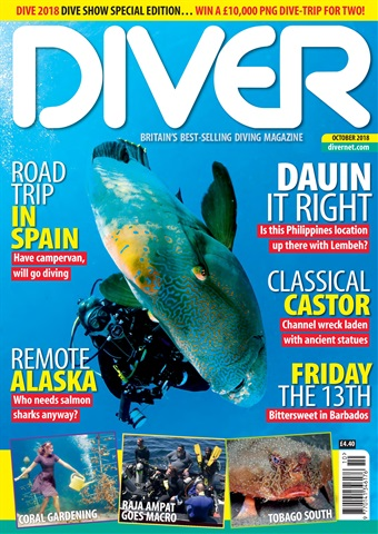 DIVER issue OCTOBER 2018