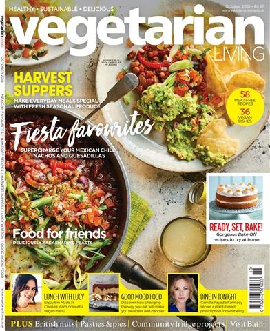 Vegetarian Living issue October-18