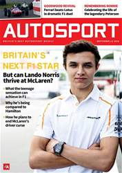 Autosport issue 13th September 2018