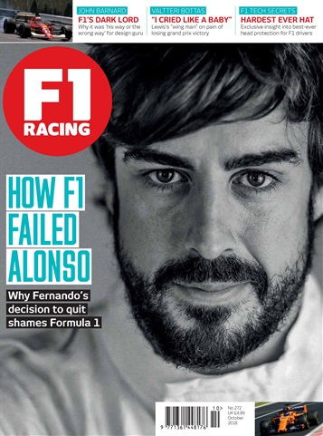 F1 Racing issue October 2018