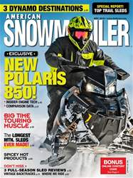American Snowmobiler issue November 2018