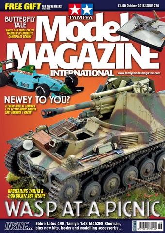 Tamiya Model Magazine issue 276 October 2018