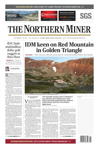 The Northern Miner Digital Issue
