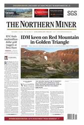 The Northern Miner issue Vol. 104 No. 19