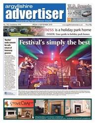 Argyllshire Advertiser issue 14/9/18