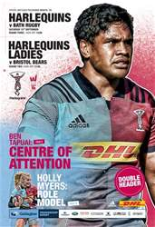 Harlequins issue Vs Bath