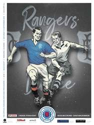 Rangers Football Club Matchday Programme issue Rangers v Dundee