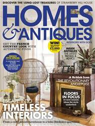 Homes & Antiques Magazine issue October 2018