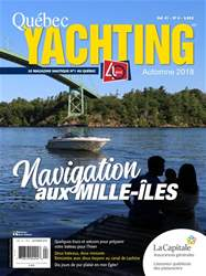 Quebec Yachting issue Automne 2018