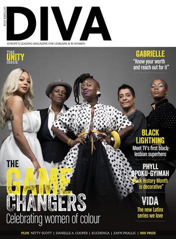 DIVA Magazine issue October 2018
