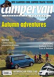 Campervan issue Autumn adventures - Issue 16 2018 - Campervan magazine