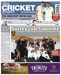 The Cricket Paper issue 14th September 2018