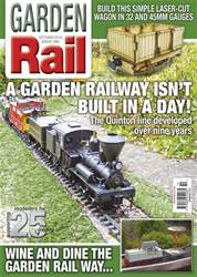 Garden Rail issue October 2018