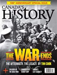 Canada's History issue Oct/Nov 2018